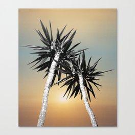 Cali Summer Vibes Palm Trees #1 #tropical #decor #art #society6 Canvas Print