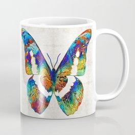 Colorful Butterfly Art by Sharon Cummings Coffee Mug