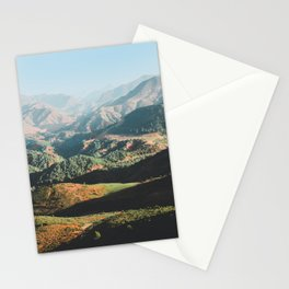 Layers of the Atlas Mountains, Africa Stationery Cards