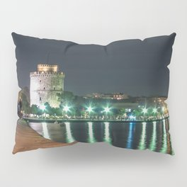 White Tower of Thessaloniki Pillow Sham