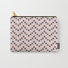 Night Blooming Cereus in Herringbone Carry-All Pouch