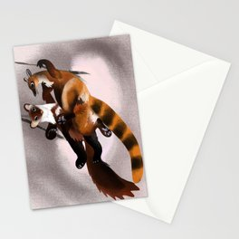 Love galidia and the swing Stationery Cards