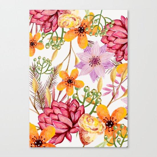 Flowers -a11 Canvas Print