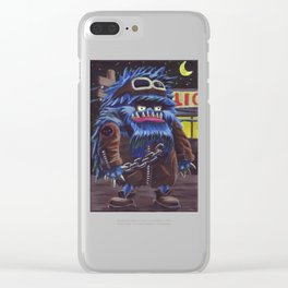 Tough Guy Clear iPhone Case
