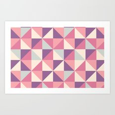 I Heart Patterns #012 Art Print