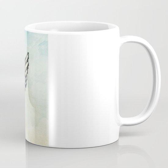 pixel mac with wings Mug