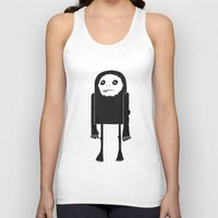yeti Tank Tops featuring Yeti by Shy Ghoul