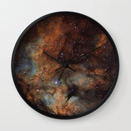 Gamma Cygni Nebula Wall Clock