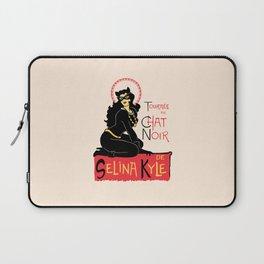 Black Cat Selina Laptop Sleeve