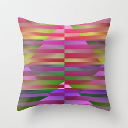 Geometrical-colorplay-pattern #1 Throw Pillow