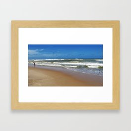 Beach Boy Framed Art Print