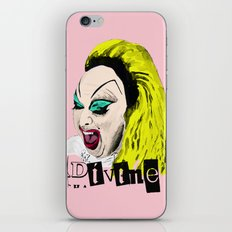 Divine From Pink Flamingos iPhone Skin