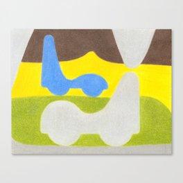 Dripstone Car Canvas Print