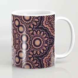 Star Flower // Bohemian Vintage Gypsy Star Mandala Hippy Boho Rustic Earthy Tribal Coffee Mug