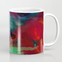 fifth element Mugs featuring Element by Amy Sia