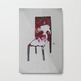 Chair.3 Metal Print