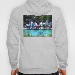Sailboats At Detroit Yacht Club Hoody
