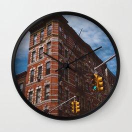 NoLita Architecture Wall Clock