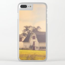 Morning At The Dairy Clear iPhone Case