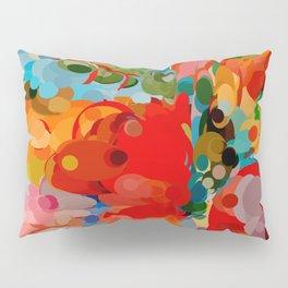 color bubble storm Pillow Sham