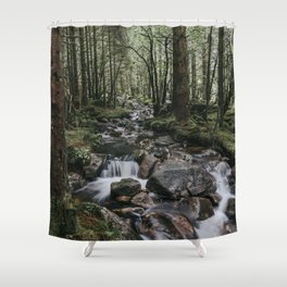 The Fairytale Forest - Landscape and Nature Photography Shower Curtain