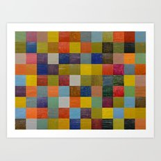 Color Collage 108 Art Print