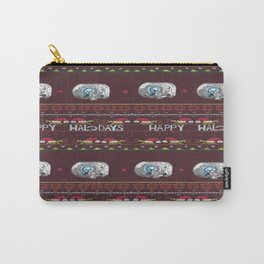 Ugly Halo Christmas sweater Carry-All Pouch
