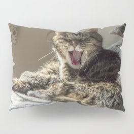 The laughing cat Pillow Sham