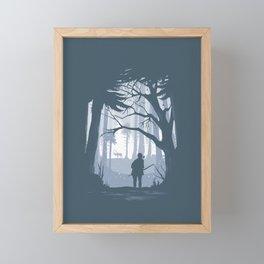 Ellie Hunting Framed Mini Art Print
