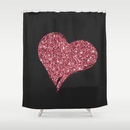 Issa Heart Shower Curtain