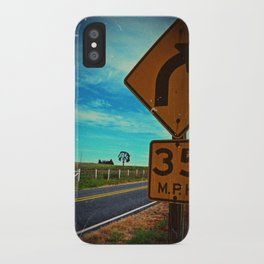 35 mph iPhone Case