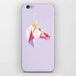 Geometrical Horse iPhone Skin