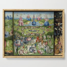 The Garden of Earthly Delights Serving Tray