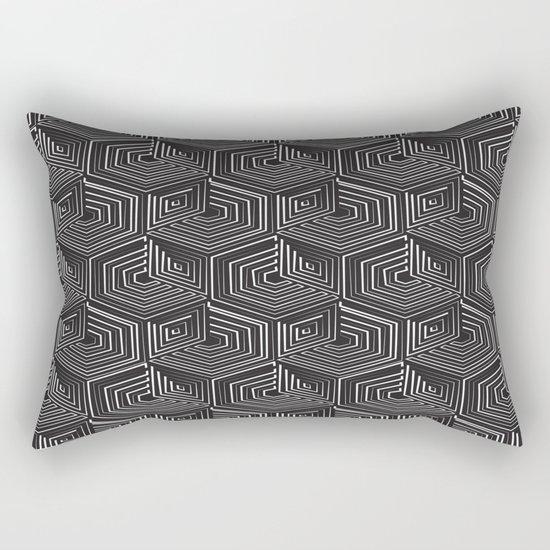 Long Train Running Rectangular Pillow