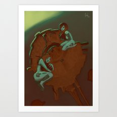 SOLAR-REACTOR Art Print