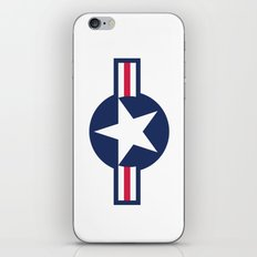 US Air force plane smbol - High Quality image iPhone & iPod Skin
