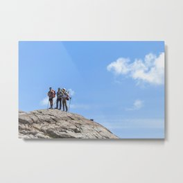 Peak Motivation Metal Print