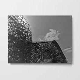 The same ups and downs Metal Print