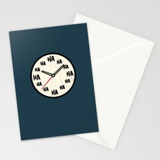 The Laughing Clock Stationery Cards
