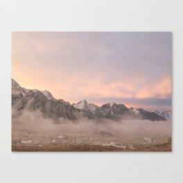 Himalayan Sunrise Canvas Print
