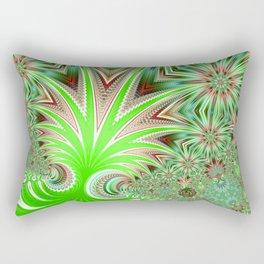 Aloe fractal Rectangular Pillow