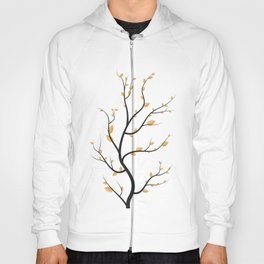 golden leaves Hoody