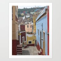 Passage No. 5 in Guanajuato, Mexico (2005) Art Print