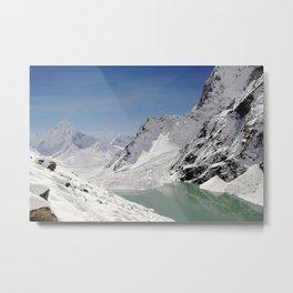 Mountain Paradise Metal Print