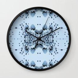 Itty Bitty Snow Hills Wall Clock