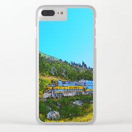 Chugach Explorer Clear iPhone Case