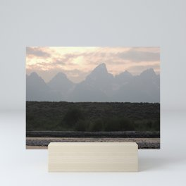 Grand Tetons by the Snake River Mini Art Print