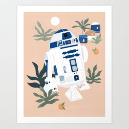 """Keep Calm and Droid On"" by Maggie Stephenson Art Print"