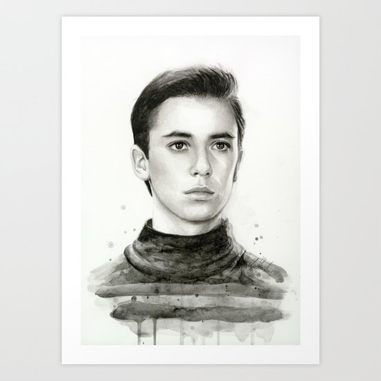 Wesley TNG Art Print