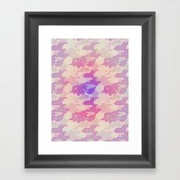 Lava Lamp Lavender  Framed Art Print